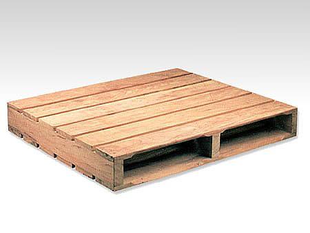 d59d5a0e94c Palete dupla face para movimentação interna de duas entradas em madeira de  lei.